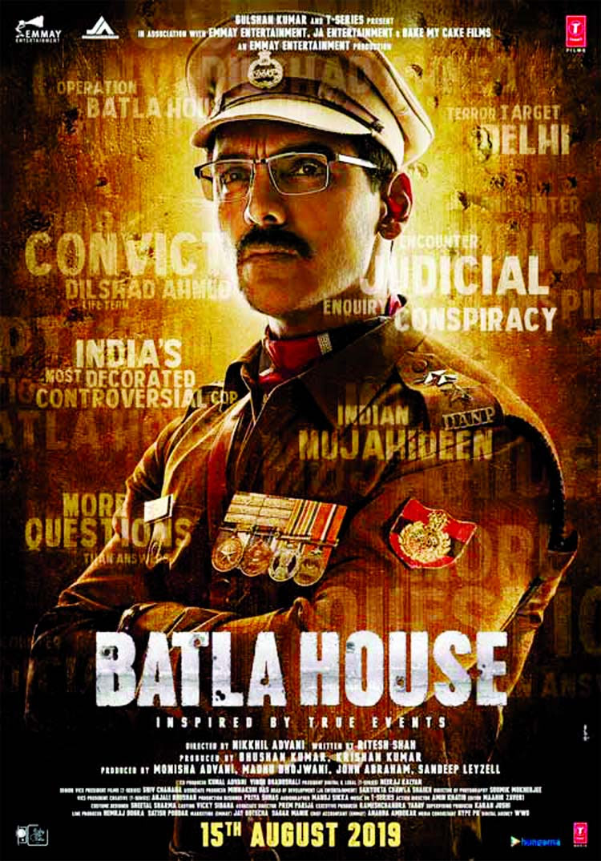Batla House | John Abraham,Mrunal Thakur, Nikkhil Advani |Releasing On 15 Aug,2019