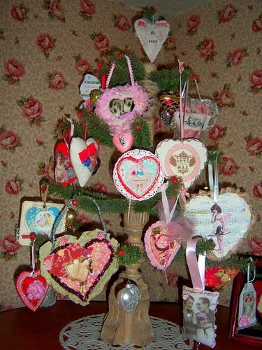 one valentine tree