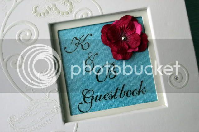 DIY Wedding Guestbook {Breezy Pink Daisies}