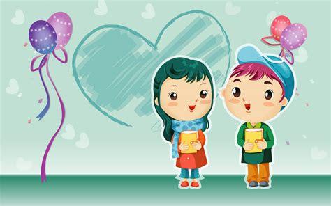 cartoon blove bwallpapers  gambar kartun romantis