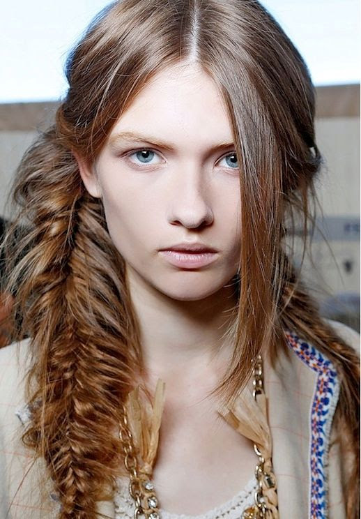 11 Le Fashion Blog 21 Braid Ideas For Long Hair Messy Side Braided Hairstyle Via Byrdie