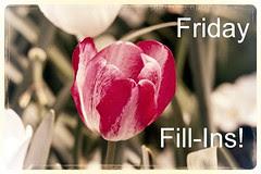Friday Fill-Ins!