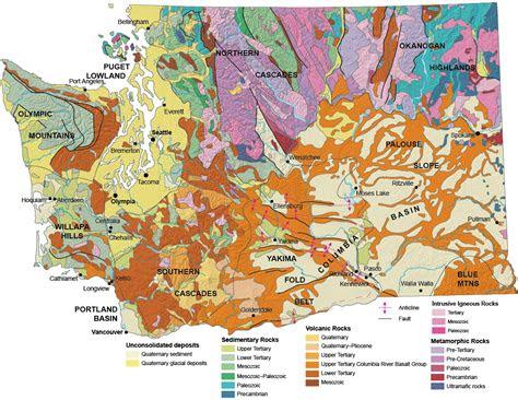 geologic provinces  washington wa dnr