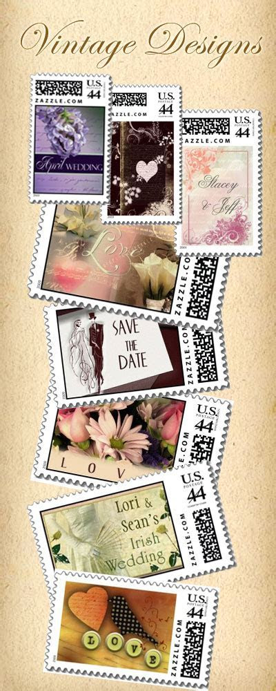 Vintage Wedding Stamps   Designs for your wedding