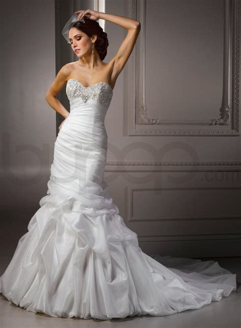 Gorgeous Mermaid Wedding Dresses with Bling ? Cherry Marry
