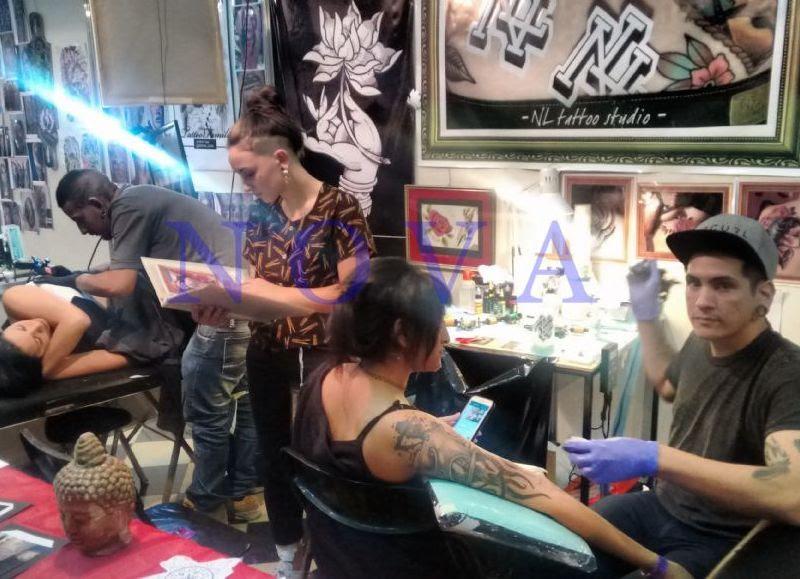 6ta Convención Internacional De Tatuajes En El Pasaje Dardo Rocha