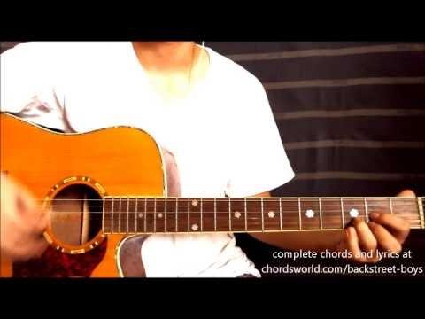 Guitar Horizon In A World Like This Chords Backstreet Boys