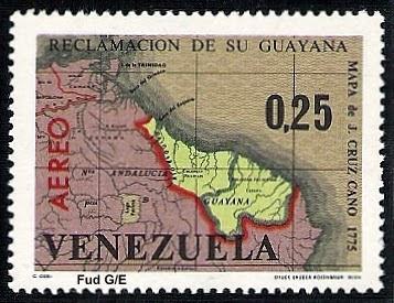1965-+0,25+Centimos+Mapa+de+J.+Cruz+Cano+1775