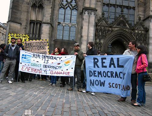 Real Democracy Now Scotland
