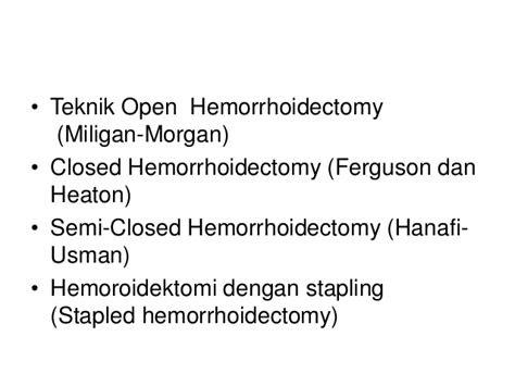 prolaps hemoroid