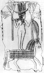 Canaanite goddess