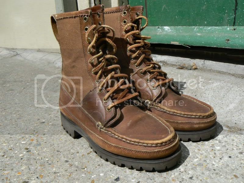 Zone7style Vintage Ralph Lauren Sportsman Polo Country Boots