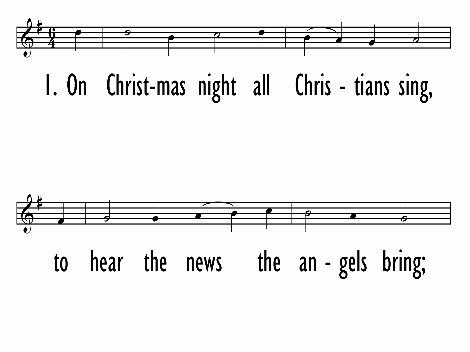 the christmas song notes lyric