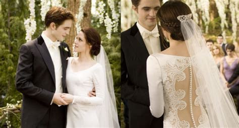Behind The Scenes Of Bella's Wedding Dress From 'Breaking