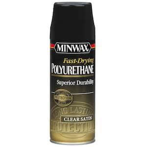 Minwax 11.5-oz. Satin Fast-Drying Polyurethane Aerosol Spray