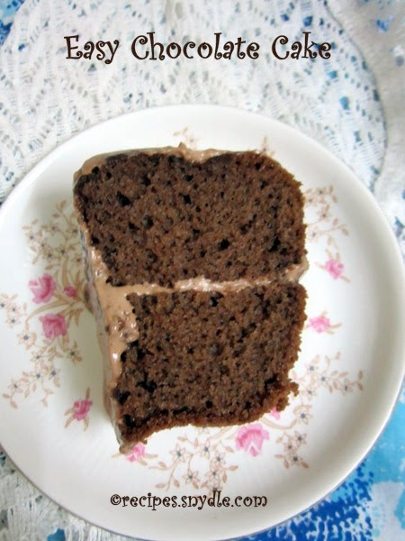 Chocolate Cake Recipe with Step-by-Step Pictures - Yummy ...