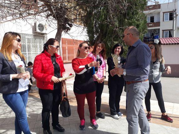 Mersin Akdeniz Kıbrıs Ilkokulu 8 Mart Dünya Kadınlar Günü Etkinliği
