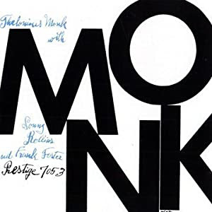 Thelonious Monk Monk cover