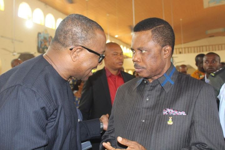 Image result for pictures of Obiano and obi