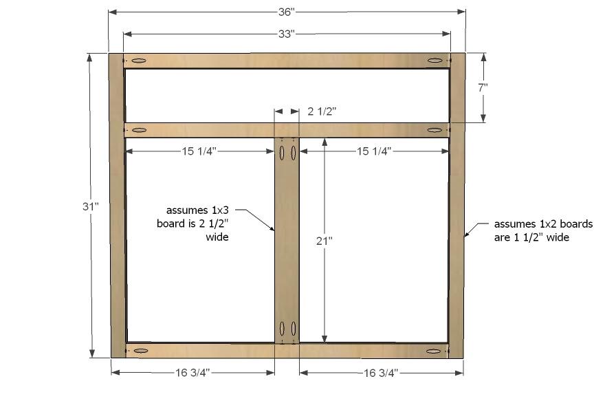 Frameless cabinet construction plans ~ Sepala