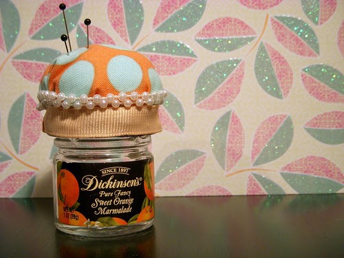 Marmalade Pin Cushion