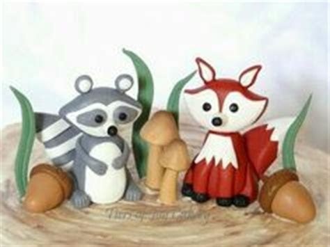 Free Fox tutorial  such a cutie cute! Sugar figurine can