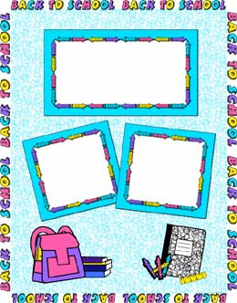Free Scrapbook Pages Bowling Grandparents Frame Back To School