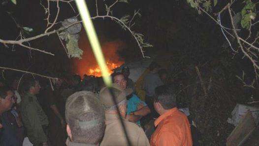 CUBA. No hubo sobrevivientes del accidente aéreo. (EFE)