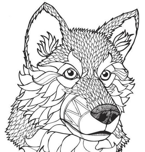 ausmalbilder wolf bilder zum ausdrucken  malvorlagen
