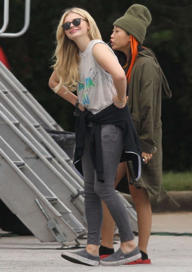 Chloe Moretz: Set of Neighbors 2 Sorority Rising -07