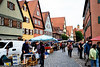 德南小鎮Dinkelsbuhl的跳蚤市場