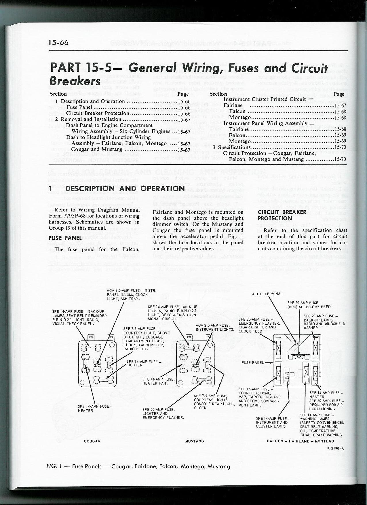68 Mustang Fuse Box Diagram Gota Wiring Diagram