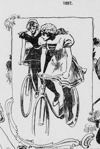 """""""American Girl"""" & Thanksgiving - 1897 (detail)"""