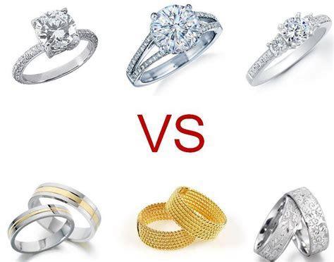 Engagement Ring Vs Wedding Ring