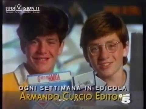 Curcio Editore - Gioco e Creo con Amiga (1992)