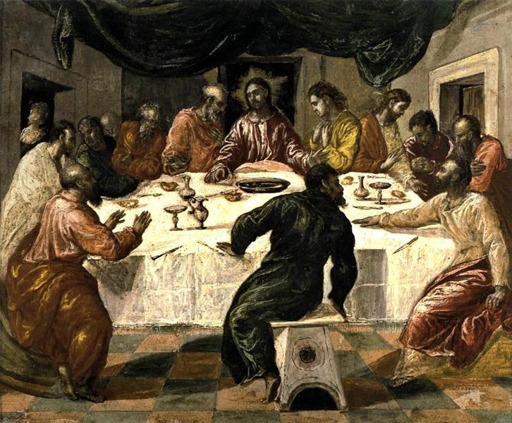 Αποτέλεσμα εικόνας για Μυστικός Δείπνος El Greco