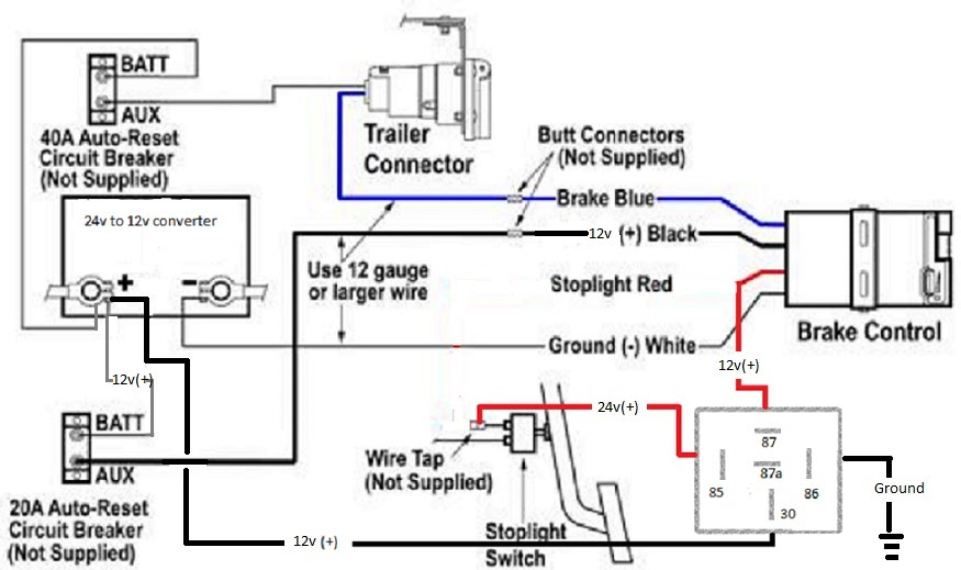 21 Images Typical Trailer Wiring Diagram