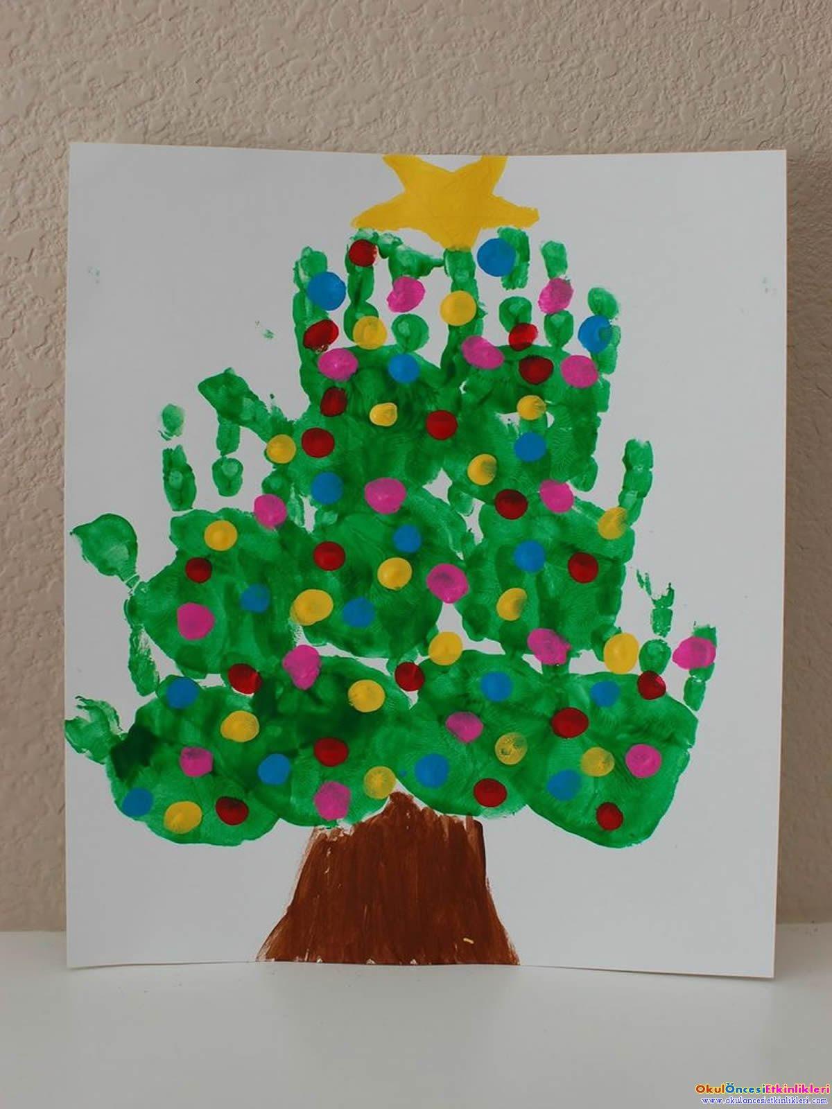 Yılbaşı Ağacı örnekleri Okul öncesi Etkinlikleri Hayallerinizi