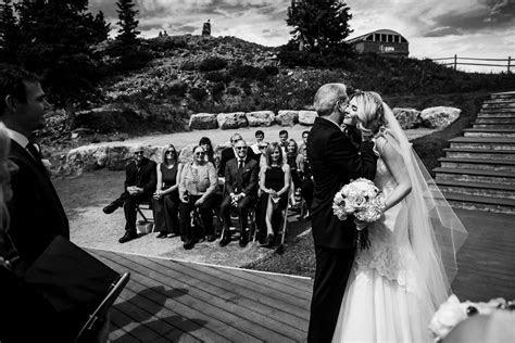 Matt & Kaylee's wedding at the Aspen Wedding Deck