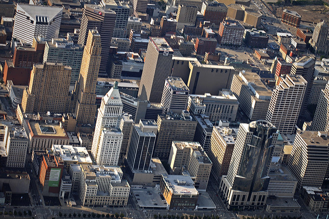 Downtown Cincinnati Skyline