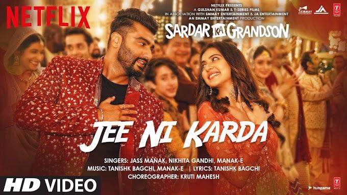 Hunn Tethon Mera Door Jaan Nu Jee Ni Karda Ni Song Lyrics - Arjun Kapoor & Rakul Preet Singh