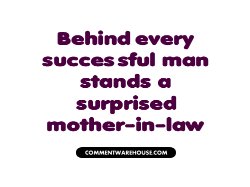 Behind Every Successful Man Quote Commentwarehousecom