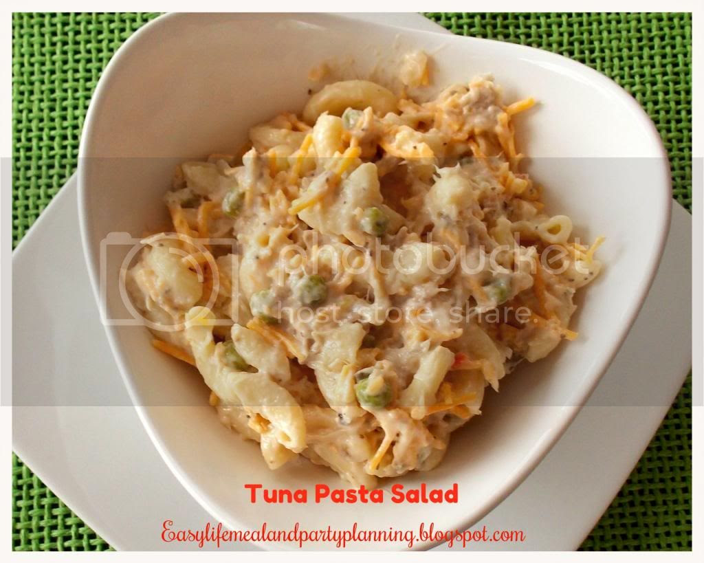 Tuna Pasta Salad by Easy Life Meal & Party Planning