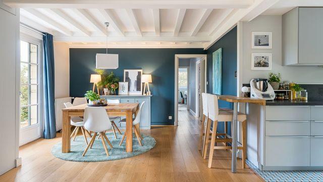 Bleu Déco Peinture Bleue Bleu Ciel Bleu Turquoise Côté Maison