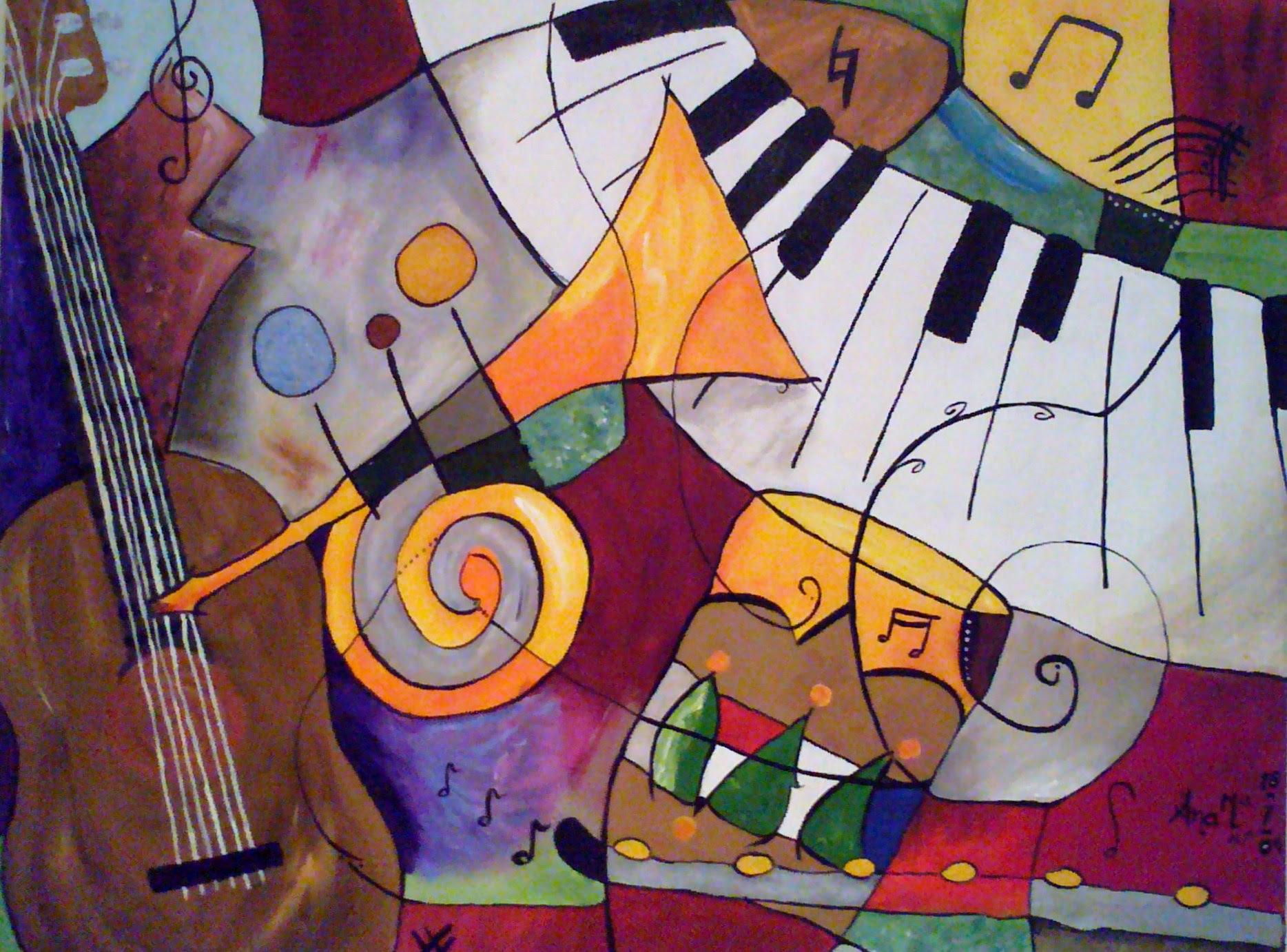 Música i... PINTURA!