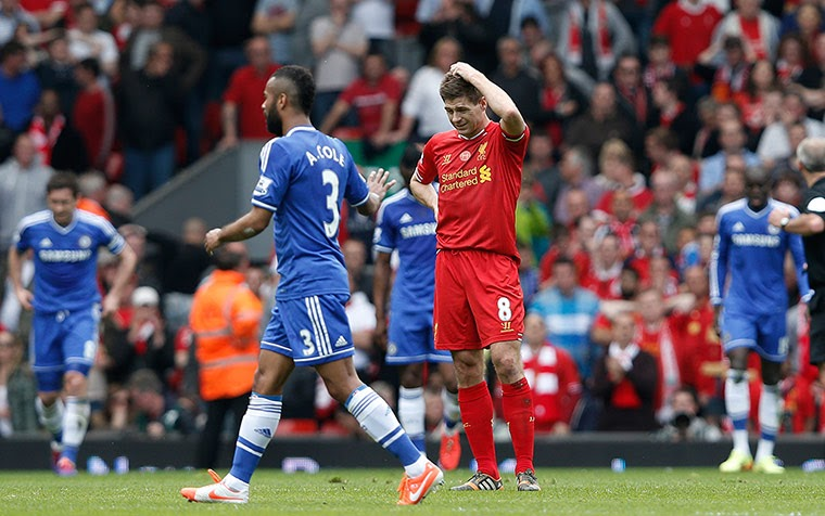 c487e06e5 A Slip in Time: Liverpool-Chelsea and the Day the '13-'14 EPL Title ...