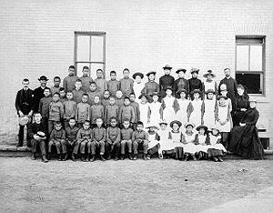 St. Paul's Indian Industrial School, Middlechu...