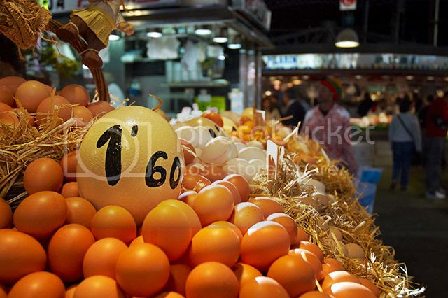 Egg Stall, La Boqueria Market, Barcelona [enlarge]