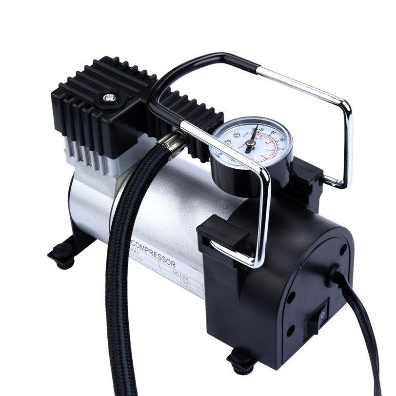 2017 New Mini Air Compressor 12v Car Auto Portable Pump