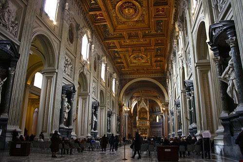 Church of San Giovanni in Laterano, Rome, Italy